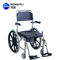 Medical device stainless steel hospital commode wheelchair
