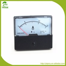 CE Approved of 60*70mm Ammeter Electric Meter Analog 0-20A