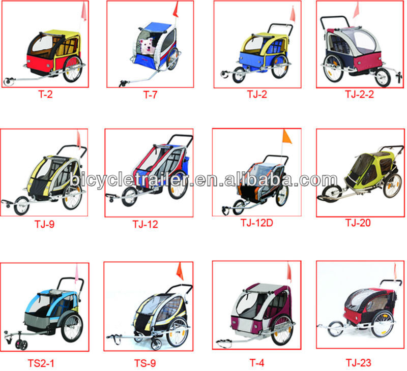 Bicycle trailer for babies baby bicyle trailer