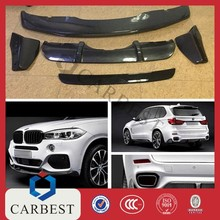 High Quality New Carbon Fiber Front and Rear Bumper Lip for BMW X5 2014