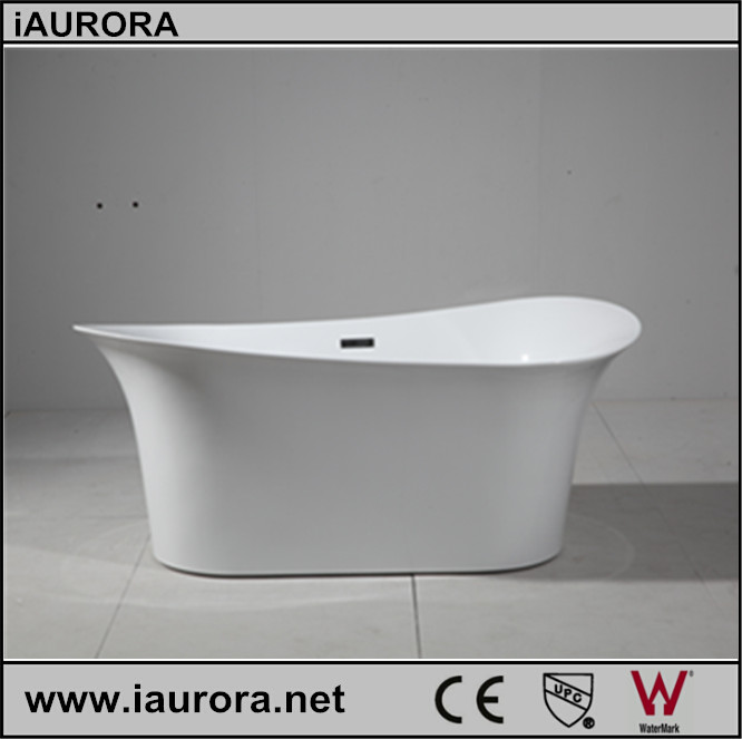 Luxury portable acrylic bath tub with european modern for European bathtub