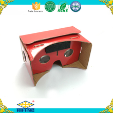 Christmas Google Cardboard V1, Cheap Cardboard VR Sets, Wholesale Google Cardboard Virtual Reality 3d Glasses