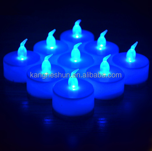 Factory Cheaper Price Party Decoration Flickering Mini Battery Operated LED Flameless Candle