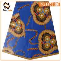 High quality Java wax print fabric african on sale