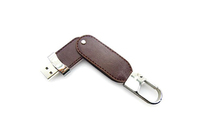 High quality bulk leather usb flash drive