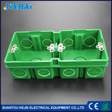2 Gang Enclosure Fireproof ABS Junction Box