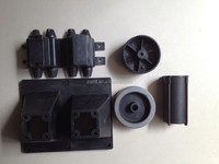 Customized precision plastic Delrin/POM/PC/PMMA/ABS/PVC, cnc turning parts