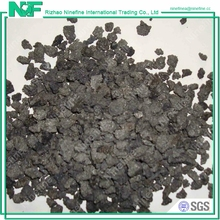 High Pure Carbon Low Sulfur Graphite Pet Coke / Graphitized Petroleum Coke Specification