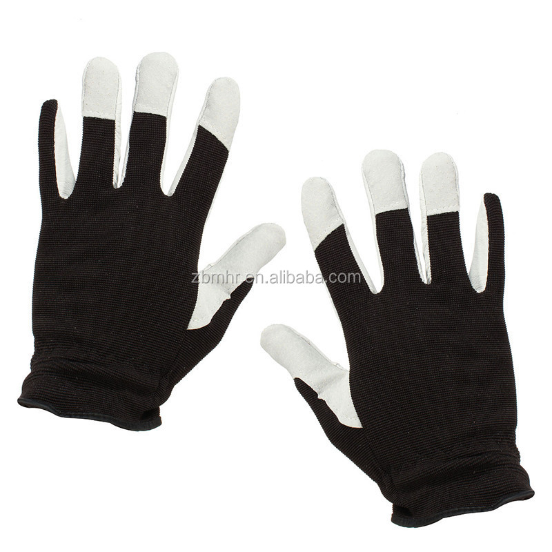 Brand MHR pig leather palm fit gloves
