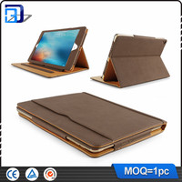 Amazon hot selling matte soft Leather flip case for ipad pro 9.7