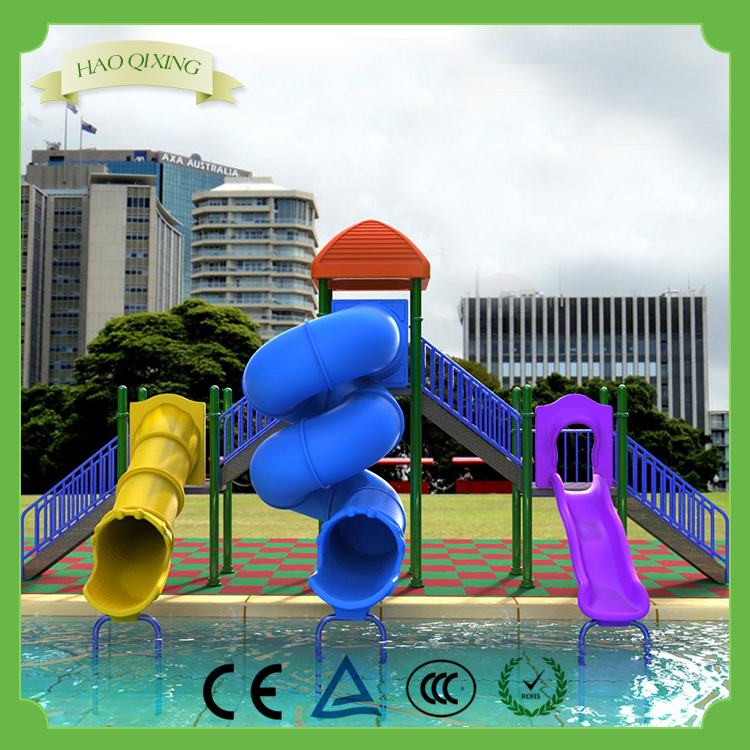 High-quality plastic water slide paradise , children's playground