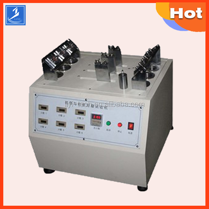 shoelace abrasion test machine