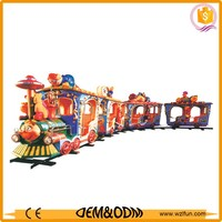 battery powered train ride for sale, battery operated train set, amusement park rides worm train