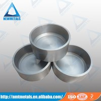 Newmetal Mo 1 Molybdenum crucible for ruby and sapphire crystal growth