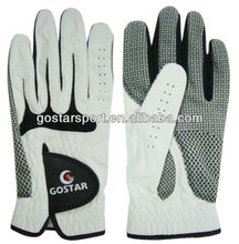 Anti-skip Indonesia Cabretta Golf Glove with Silicon Dot