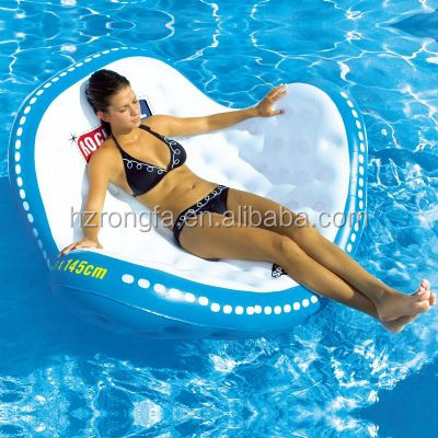 Water Play Equipment Inflatable lounge,PVC Inflatable Floating Sofa/Chair