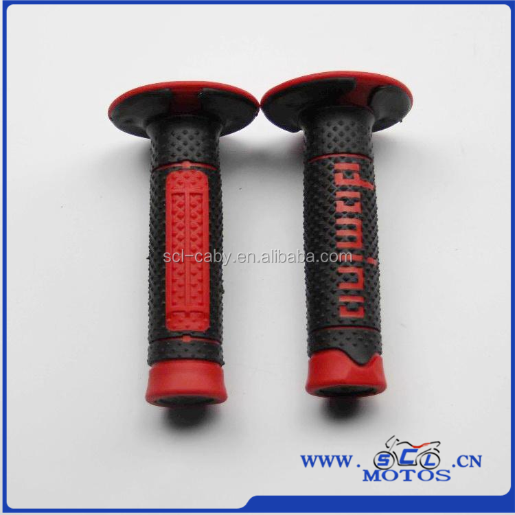 SCL-2015050016 New Design Rubber Motorcycle Handle Grips, Motorcycle Handlebars