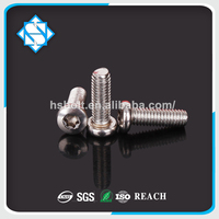 304 stainless steel anti theft T10 T8 CSK head trox screw
