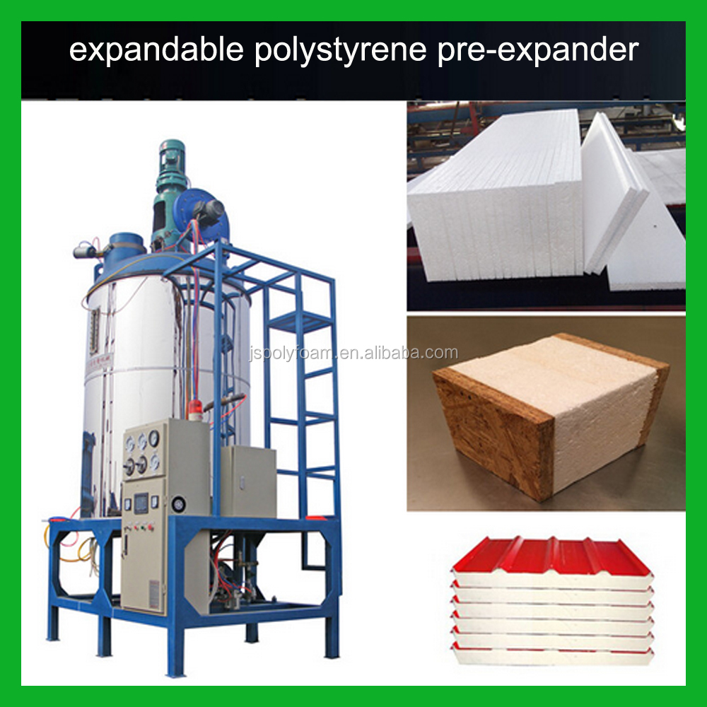 Small Continuous EPS Polystyrene Beads Making Machine