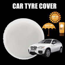 Promotional Universal Spare PVC Car Tyre Covers For Customized