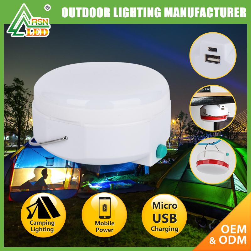 Hiking Tent Light USB rechargeable camping supplies led outdoor camping lantern