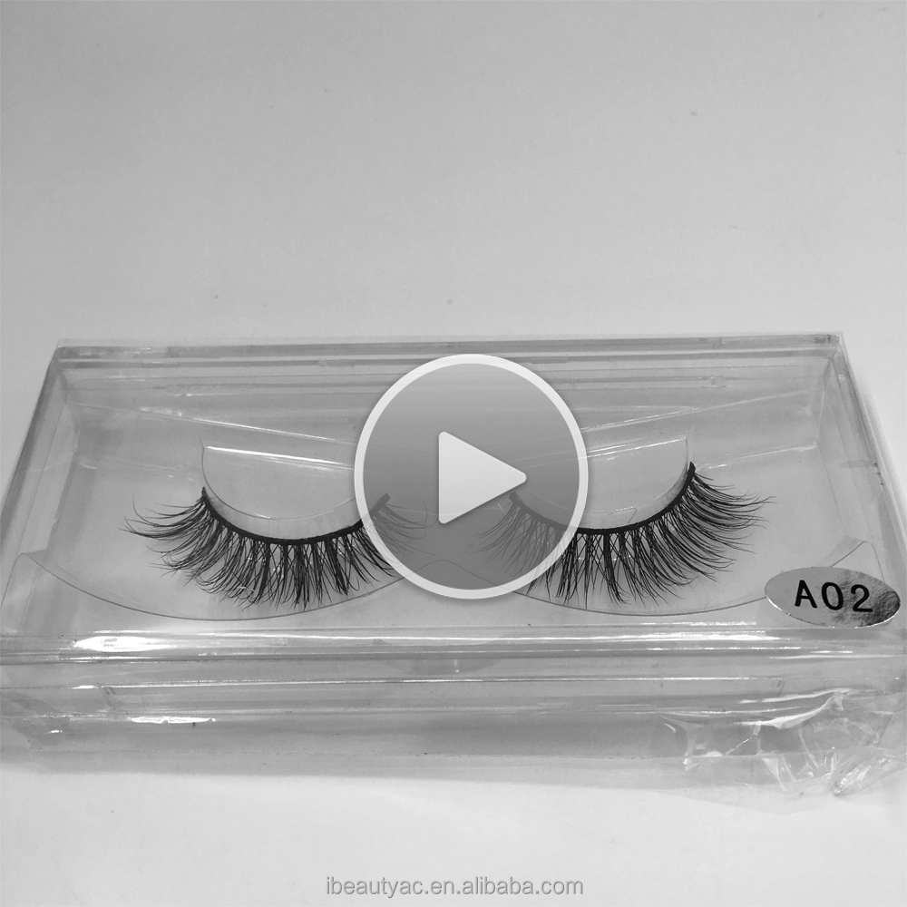Qingdao iBeauty Custom Eyelash Box Mink Lashes Beauty Eyelashes