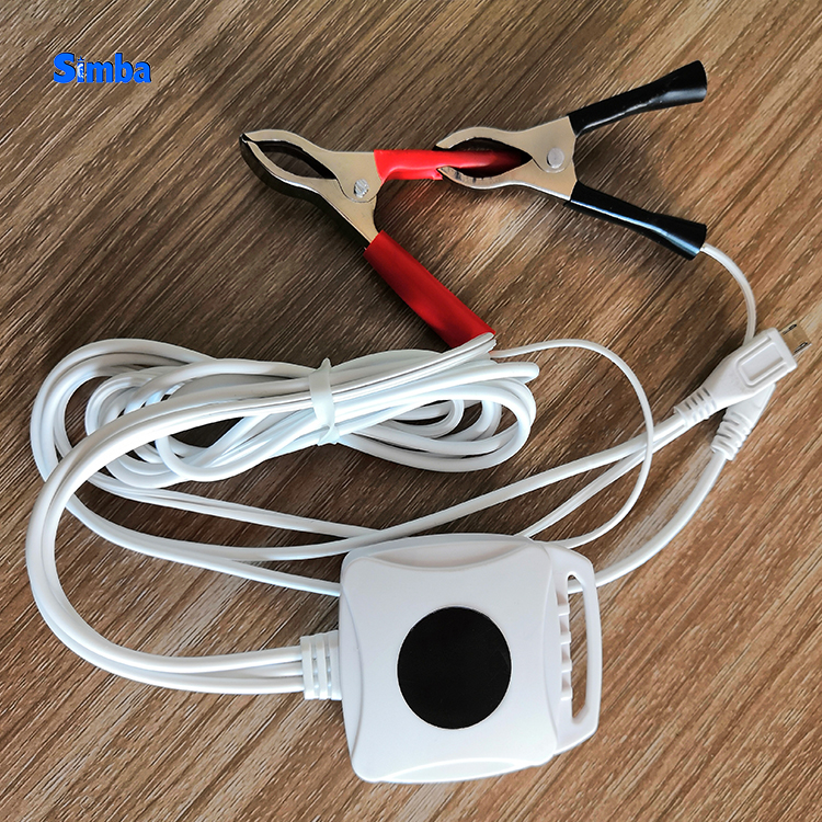 12V 1.5A Portable Micro 2 USB Double Iron Clamp Motor <strong>C</strong> Battery charger for DC2.0 Motor cycle <strong>Engine</strong> Car 2019