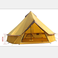 2018 factory hot sell 3m,4m 5m outdoor canvas teepee Mongolian winter bell tent