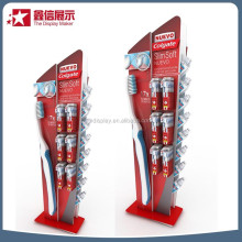 Promotion festival toothbrush display stand /acrylic material promotion table