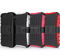 2 IN 1Multicolor TPU+PC Armor CASE Hybrid Kickstand Cell Phones back cover for iPhone 4/4S OUTDOOR CASE