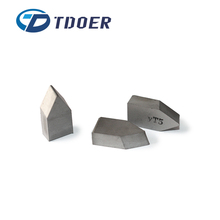 tungsten carbide brazed tips customized size and quantity tungsten wear parts