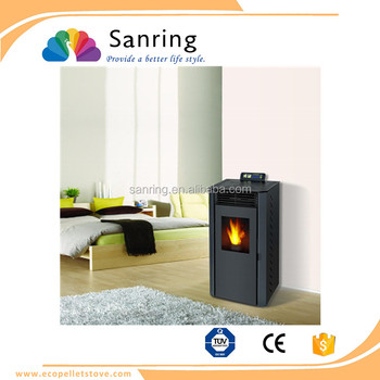 Low price 9 KW pellet stove with remote control