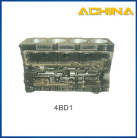 spare parts of engine motorcycle cylinder block 4BD1 for excavator