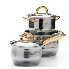 Wholesale stainless steel korkmaz cookware