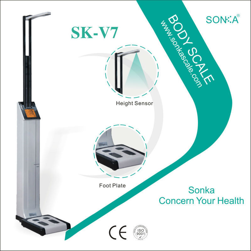Passed CE ISO13485 SK-V7 Digital Medical Mechanical Scale New Product