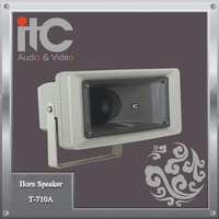"ITC T-710A 30W 5"" IPx6 Waterproof Outdoor PA Speaker Horn"