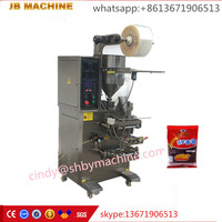 high speed JB-150J automatic instant noodles/seasoning sauce sachet packing machine