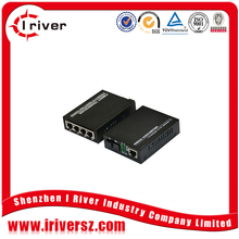 Stable quality Cheap price catv media converter FTTH 2KM to 120KM optical ethernet converter