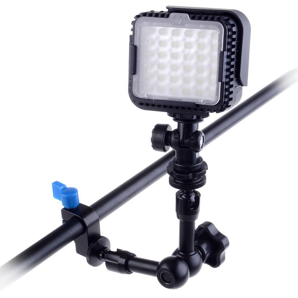 7 Inch Industrial Articulating Magic Arm For Camera LED Light Dolly Track