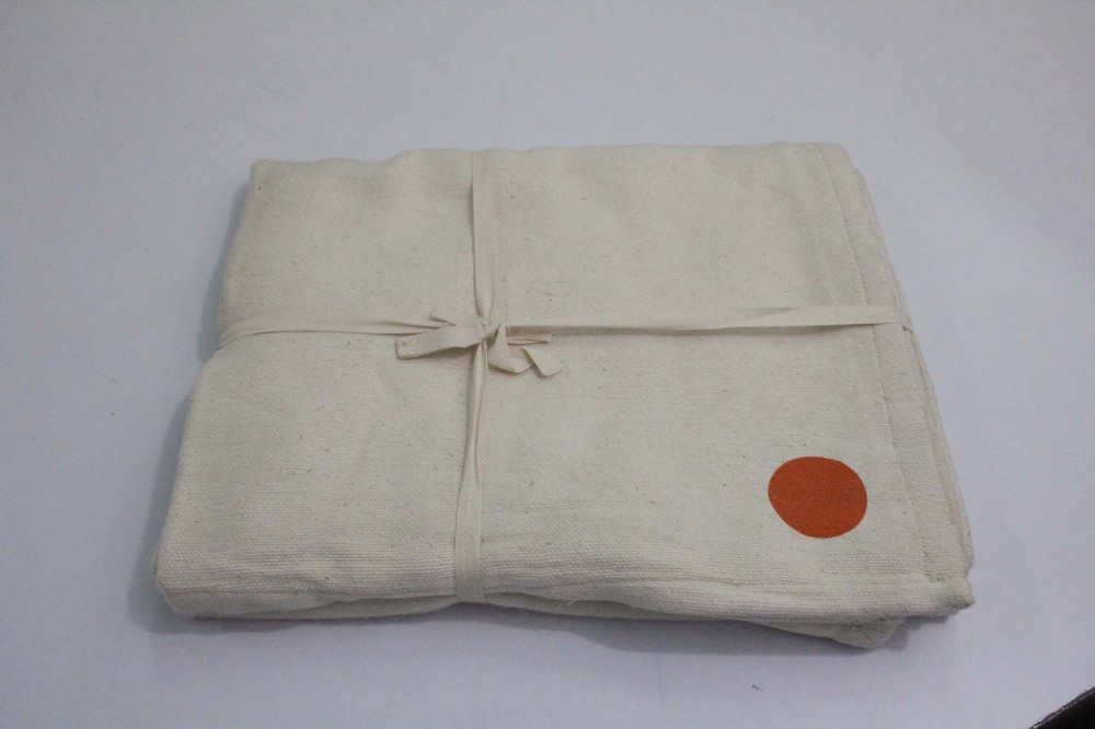 Indian made Cotton blanket for yoga asana