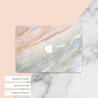 marble surface full body laptop skin sticker for macbook decal marble sticke case