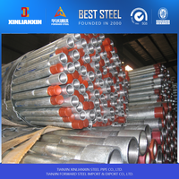 hot dipped galvanized steel pipe high quality standard coupling