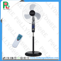 18INCH EMERGENCY RECHARGEABLE LIGHT FAN WITH REMOTE CONTROL