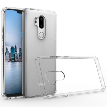 For LG G7 Plus clear tpu case crystal transparent phone case for LG V30s+