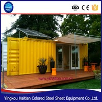 Easy to assemble prefab shipping container home / container house New!