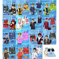 halloween party cosplay clothes for kids doctor costume police Surgeon Doctor pirate costume props and costumes