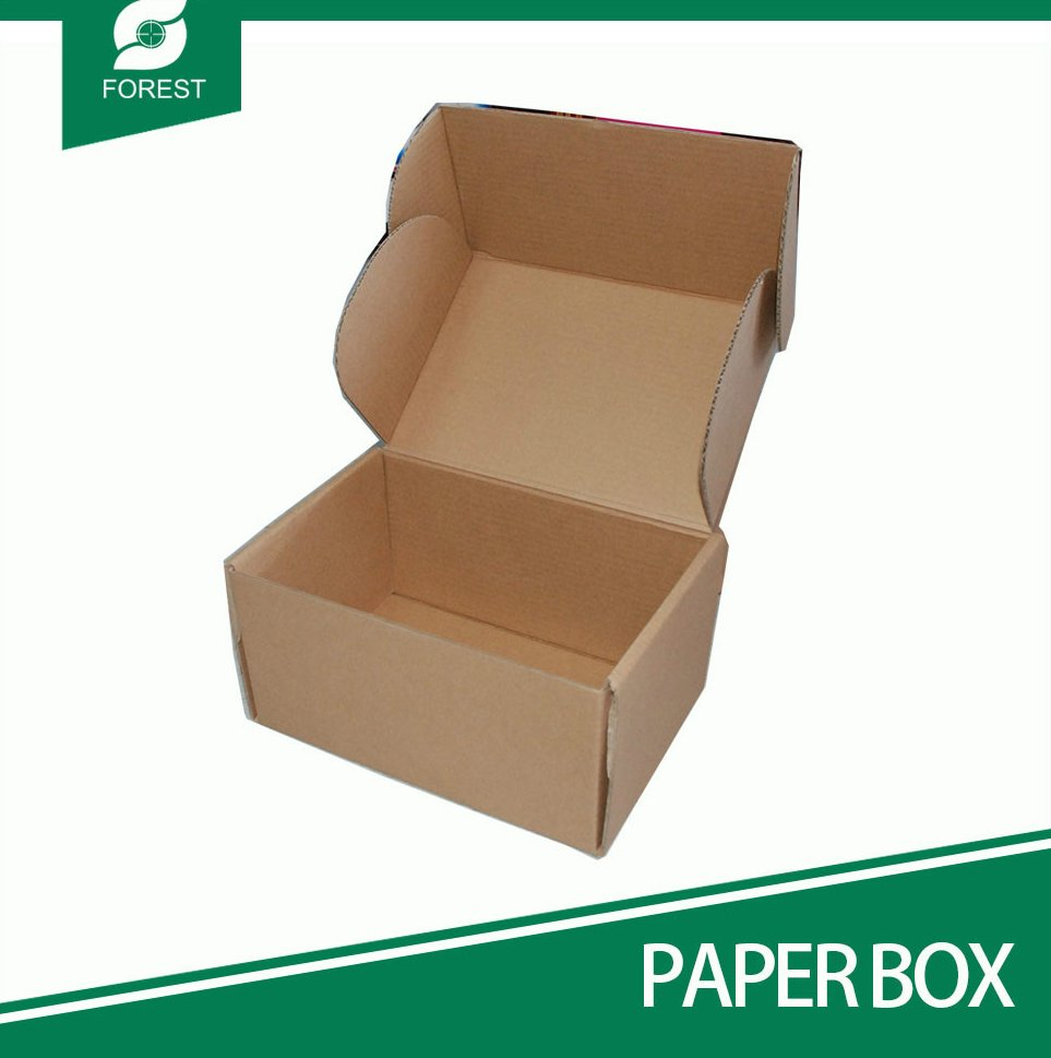 ECOFRIENDLY HOT SALE CUSTOMIZED BROWN KRAFT PAPER PACKAGING BOX CORRUGATED PAPER SHIPPING BOX MOVING BOX WITH FREE SAMPLE