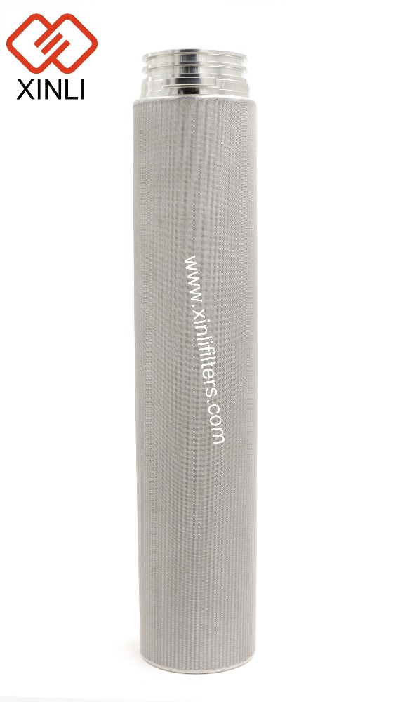 Stainless steel steam filter cartridge