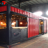Custom Made Metal Sheet Prefab Coffee Shop Shipping Container Homes For Sale Container House