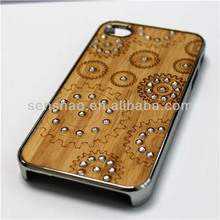 Metal wood case for iphone5